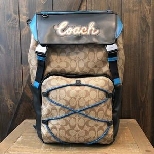 NWT Authentic Coach Signature Terrain Backpack